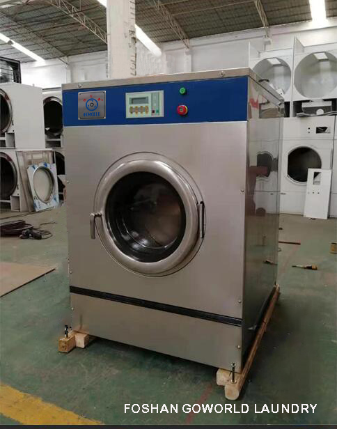 GOWORLD stainless steel washer extractor simple installation for inns