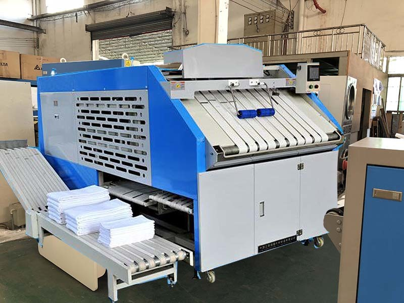 GOWORLD safe folding machine efficiency for hotel