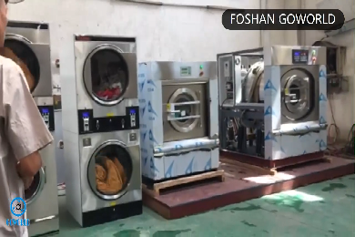 Laundry washing equipment test