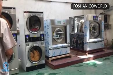 Laundry washing equipment test