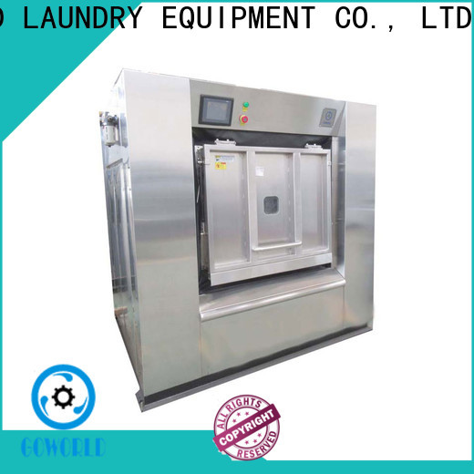 GOWORLD energy saving commercial washer extractor easy use for laundry plants