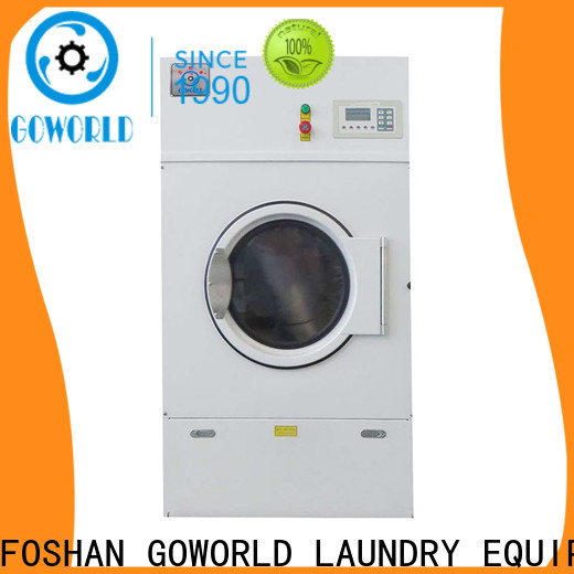 GOWORLD automatic industrial tumble dryer steadily for hotel