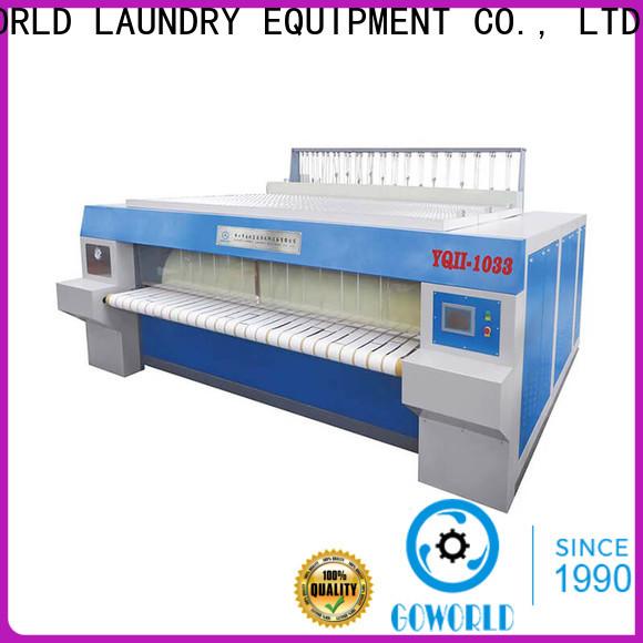 heat proof flat work ironer machine machine free installation for hospital
