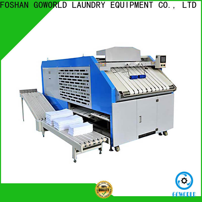 GOWORLD laundry folding machine efficiency for medical engineering
