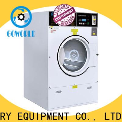 GOWORLD center self service washing machine steam heating for hotel