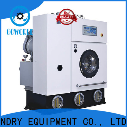 GOWORLD laundry dry cleaning equipment energy saving for textile industries