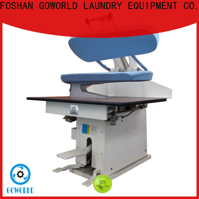 GOWORLD press form finishing machine Manual control for dry cleaning shops