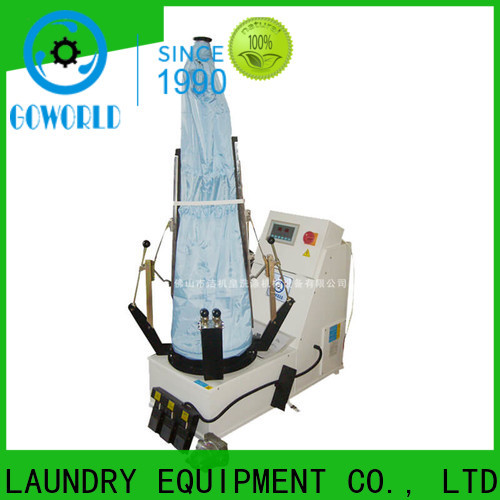 multifunction industrial iron press machine grade Manual control for dry cleaning shops