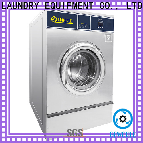 GOWORLD hotel industrial washer extractor manufacturer for laundry plants