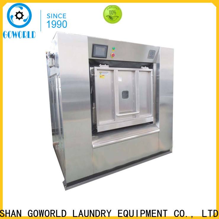 GOWORLD industrial commercial washer extractor easy use for laundry plants