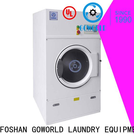 GOWORLD machine laundry dryer machine low noise for laundry plants