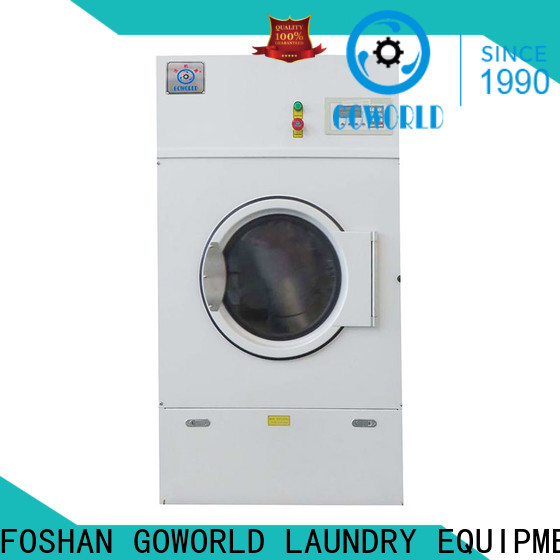 GOWORLD clothes electric tumble dryer for high grade clothes for laundry plants
