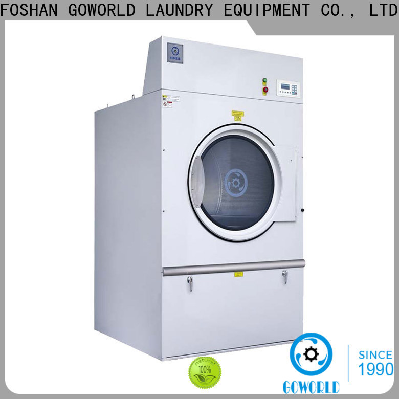 GOWORLD 8kg150kg tumble dryer machine for high grade clothes for hotel