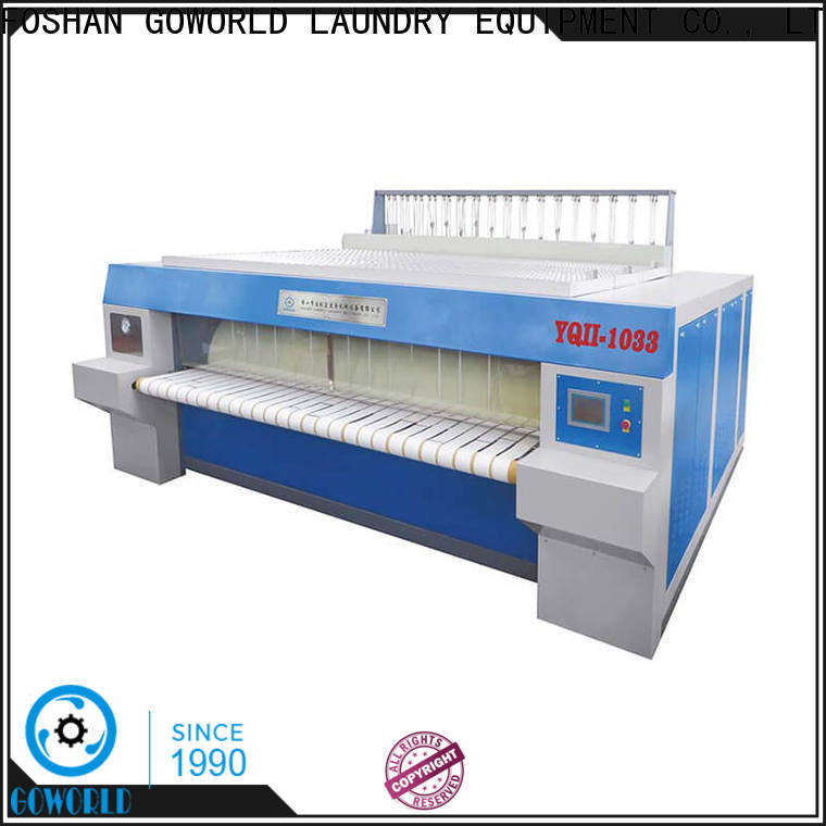 stainless steel flat roll ironer ironing for sale for hospital
