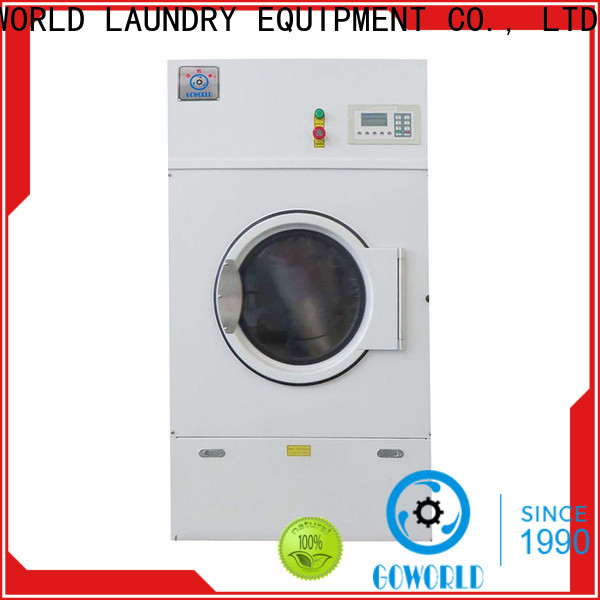 automatic industrial tumble dryer drying simple installation for hotel