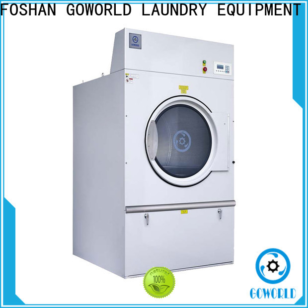 GOWORLD standard tumble dryer machine factory price for laundry plants