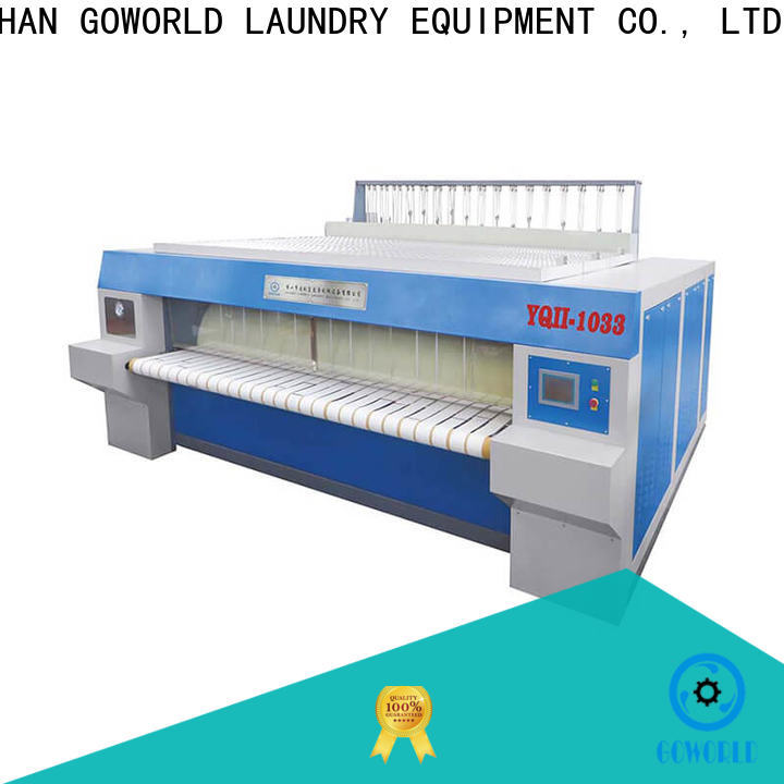 GOWORLD safe roller ironing machine factory price