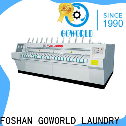 GOWORLD plant flat work ironer machine easy use for inns
