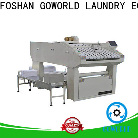 GOWORLD automatic automatic towel folder efficiency for textile industries