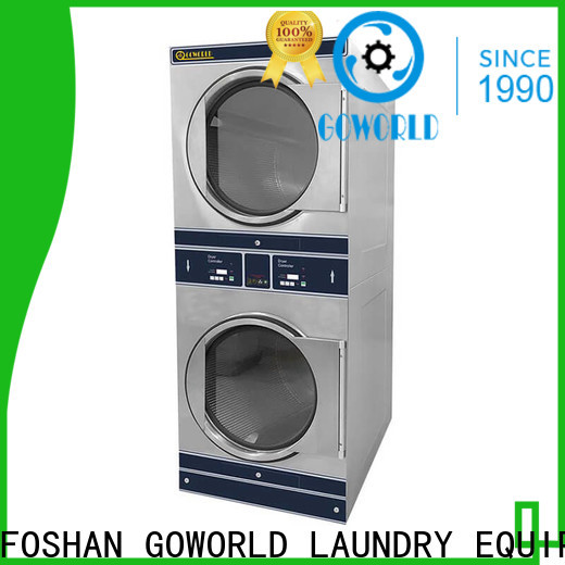 Manual stackable washer and dryer sets school steam heating for school
