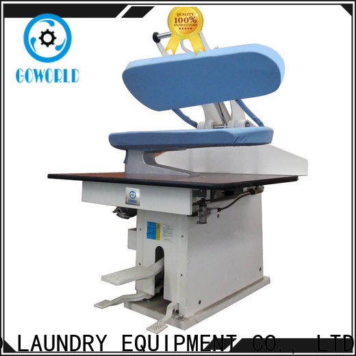 GOWORLD form utility press machine Manual control for laundry