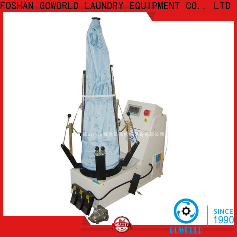 GOWORLD multifunction laundry press machine pneumatic control for garments factories