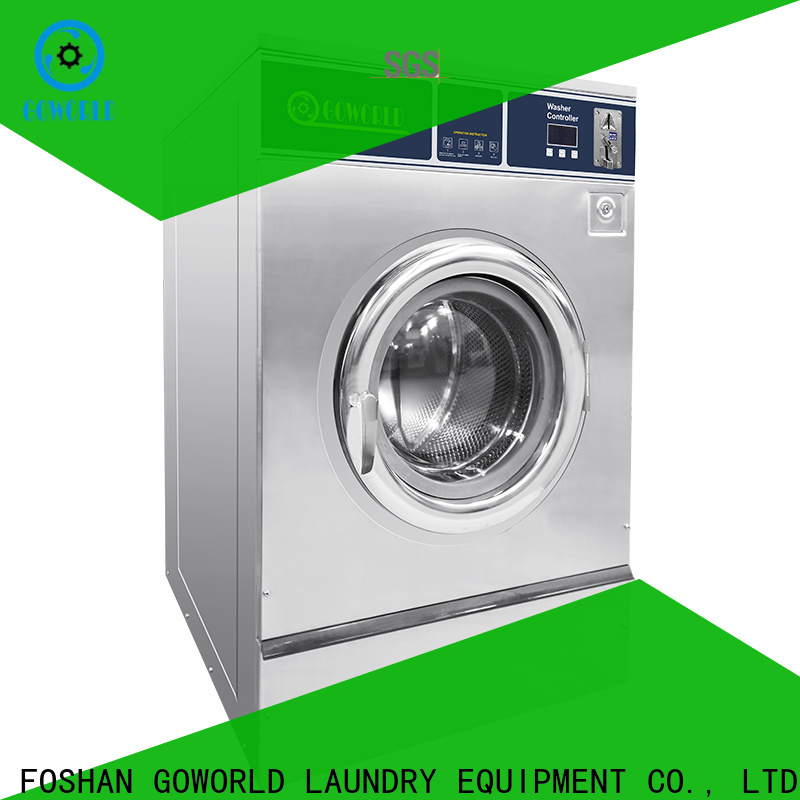 GOWORLD operated self-service laundry machine directly price for hotel