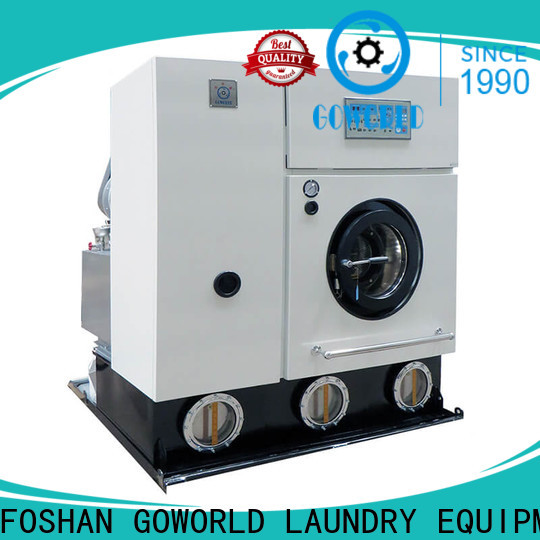 reliable dry cleaning machine shoprailway Easy operated for textile industries