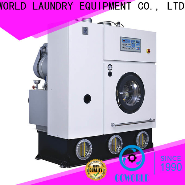 GOWORLD reliable dry cleaning equipment for laundry shop