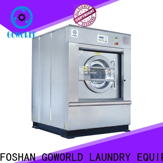 GOWORLD extractor barrier washer extractor easy use for hotel