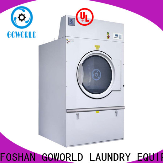 GOWORLD machine industrial tumble dryer low noise for inns