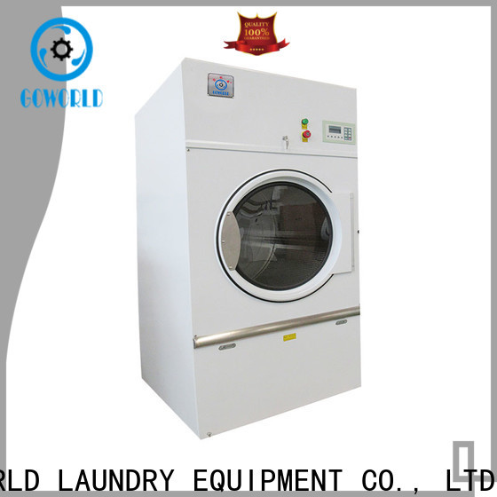GOWORLD commercial laundry dryer machine simple installation for laundry plants