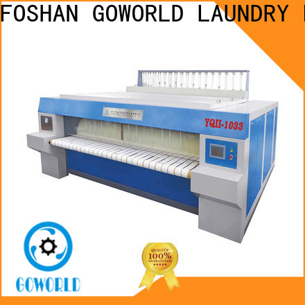 high quality flat roll ironer sheet easy use for laundry shop
