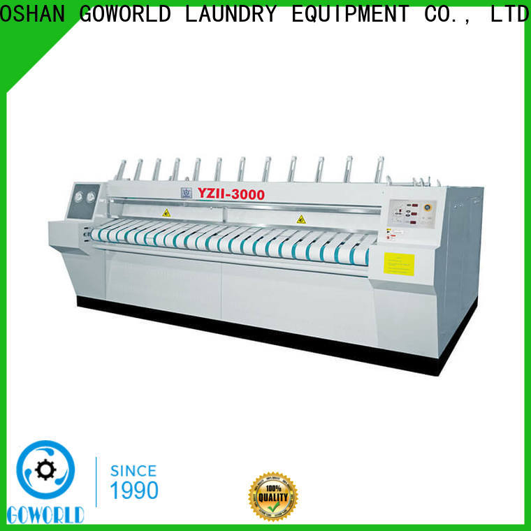 GOWORLD high quality flatwork ironer free installation for hospital