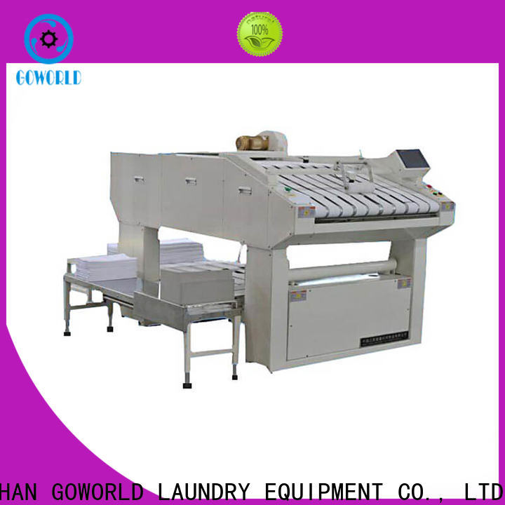 GOWORLD intelligent towel folding machine efficiency for textile industries