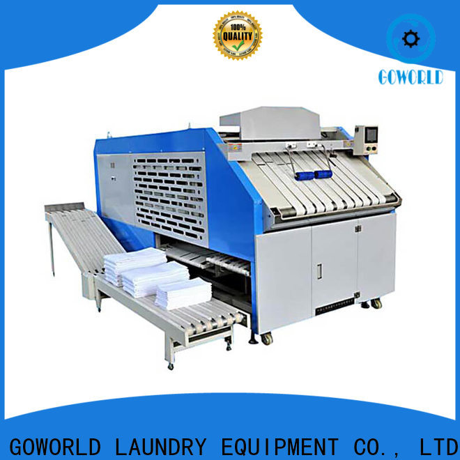 GOWORLD multifunction towel folder factory price for laundry factory