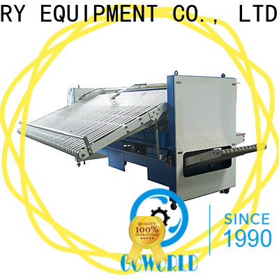 GOWORLD laundry folding machine intelligent control system for laundry factory