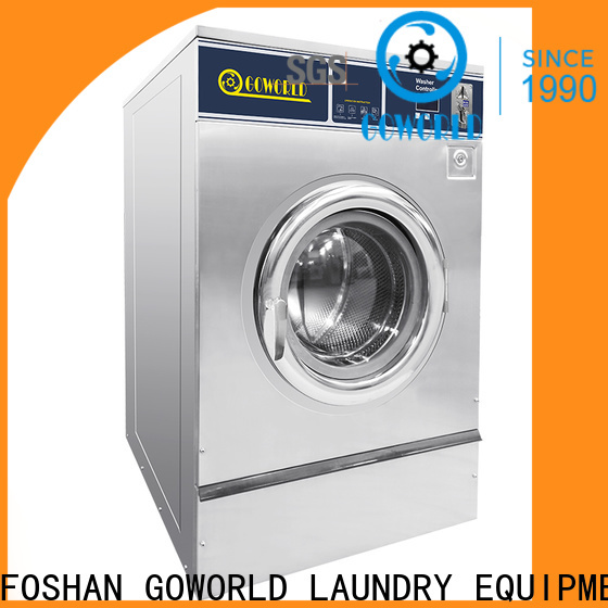 stainless steel self laundry machine combo directly price for laundry shop