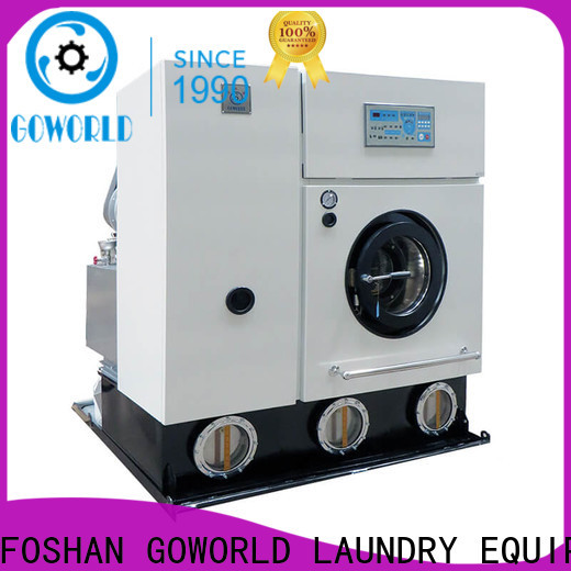 GOWORLD shop dry cleaning machine for hotel