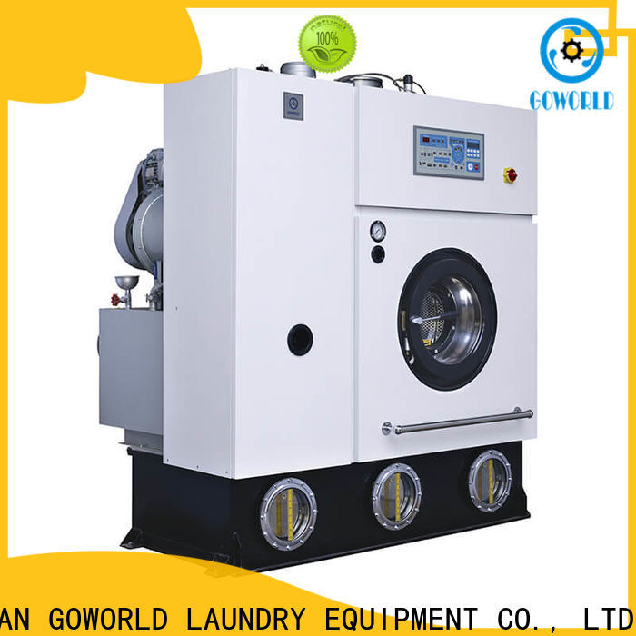 GOWORLD automatic dry cleaning equipment energy saving for laundry shop