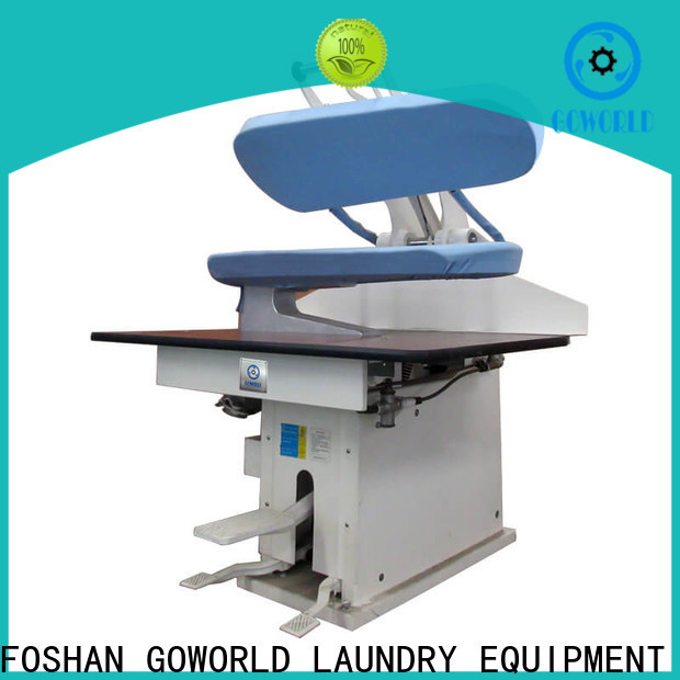 GOWORLD finishing laundry press machine easy use for dry cleaning shops