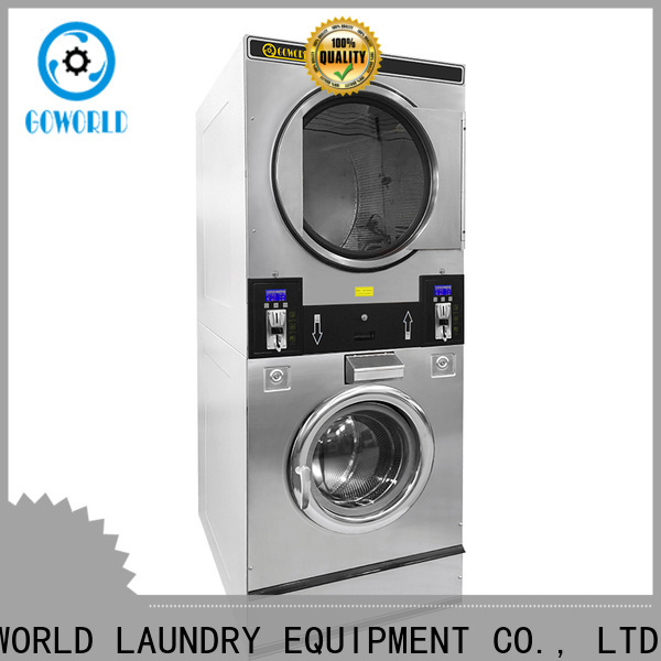 GOWORLD coin self service laundry equipment natural gas heating for service-service center