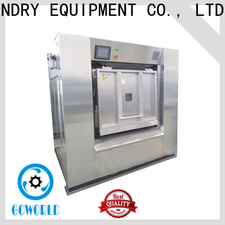 GOWORLD high quality commercial washer extractor easy use for laundry plants