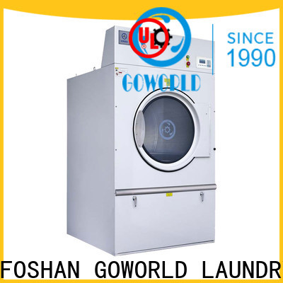 GOWORLD commercial laundry dryer machine steadily for hospital