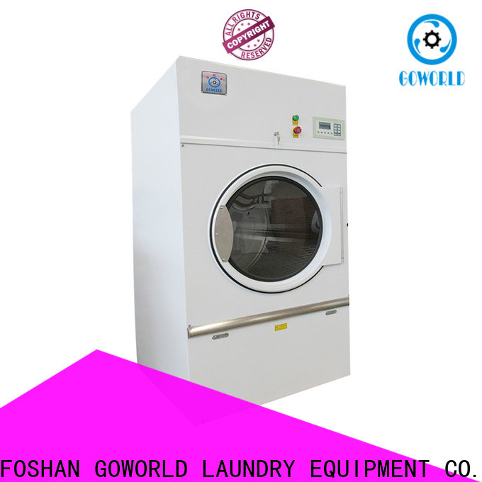 GOWORLD steam gas tumble dryer for drying laundry cloth for hospital