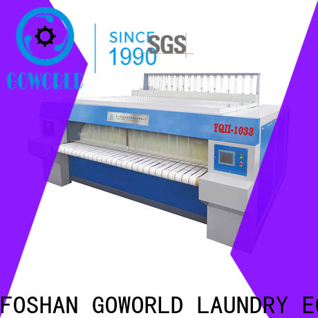 GOWORLD hotel ironer machine for sale for hospital