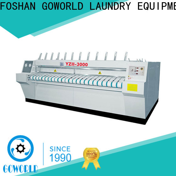 GOWORLD heating flat roll ironer factory price for textile industries