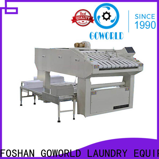 automatic towel folding machine sheet high speed for textile industries