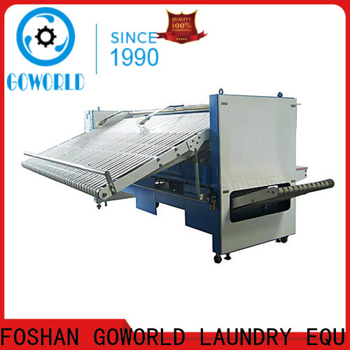 GOWORLD industrieslaundry folding machine efficiency for medical engineering