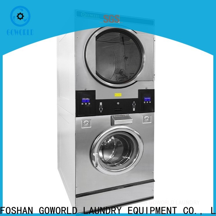 Energy Saving stacking washer dryer stack supplier for school